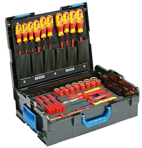 GEDORE VDE-Werkzeugsortiment HYBRID 53-tlg in L-BOXX 136 1100-1094