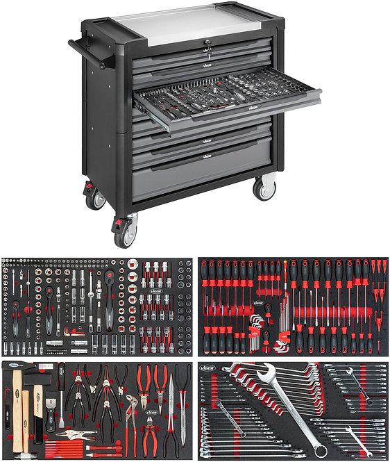 VIGOR Werkstattwagen V4481-X/375 1000XL Anzahl Werkzeuge: 375