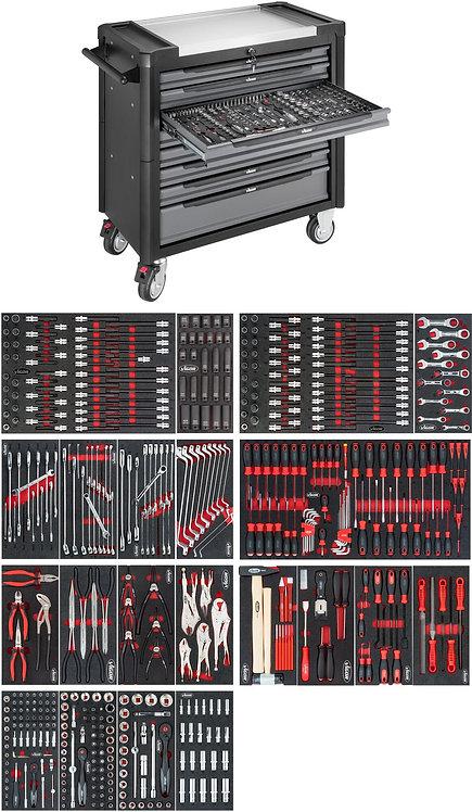VIGOR Werkstattwagen 1000XL V4481-X/499 Anzahl Werkzeuge: 499