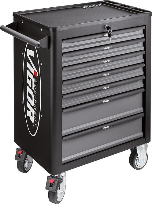 VIGOR Werkstattwagen mit 7 Schubladen VIGOR 1000 leer V1901