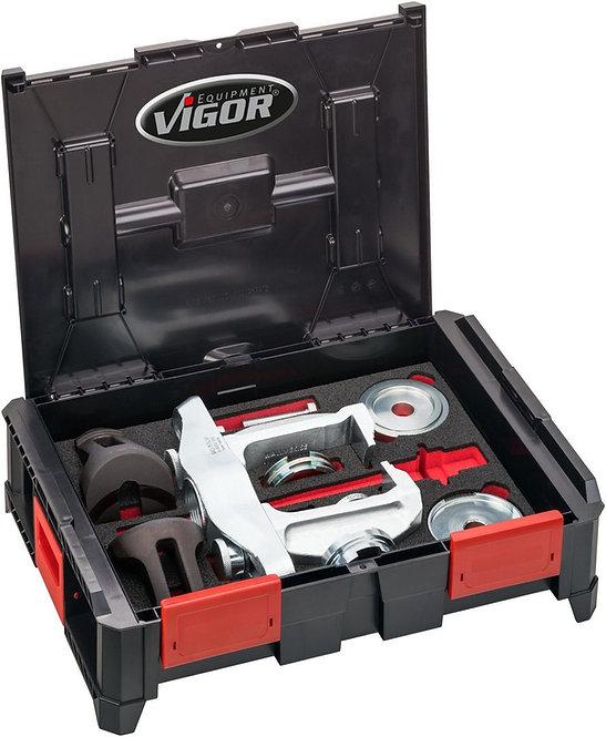VIGOR Multibox Kompakt-Radlager Demontage- / Montagesatz universal V4680 15-tlg.