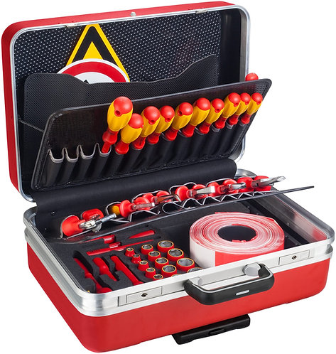 HAZET Werkzeug-Satz für Hybrid- und Elektrofahrzeuge 150/43 Anzahl Werkzeuge: 43