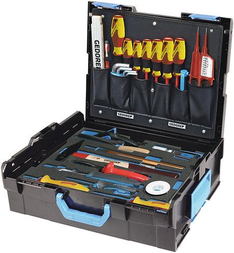 GEDORE GEDORE L-BOXX 136 mit Sortiment Elektriker, 36-tlg 1100-02