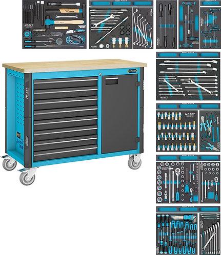 HAZET Fahrbare Werkbank 179NW-8/244 Anzahl Werkzeuge: 244