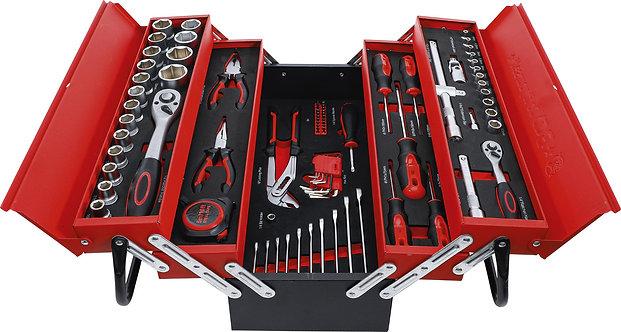 BGS Metall-Werkzeugkoffer inkl. Werkzeug-Sortiment 86-tlg. BGS-6056