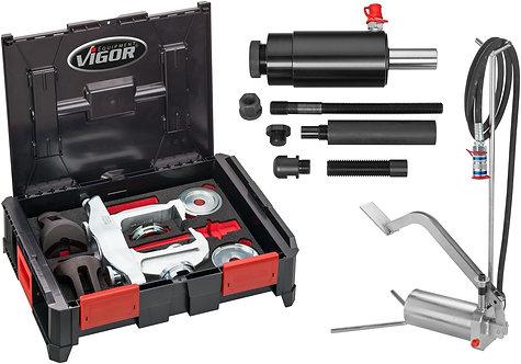 VIGOR Multibox V4700-L Hydraulik Kompakt-Radlager Basis Satz V5554 28-tlg.