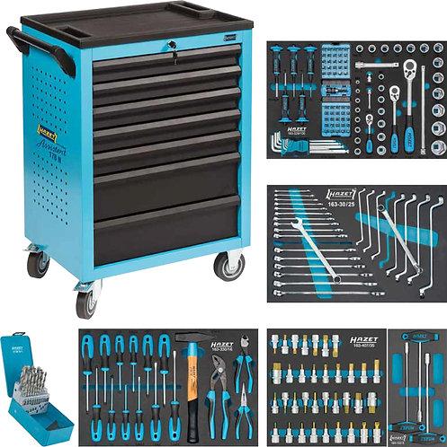 HAZET Werkstattwagen Assistent 178N-7/204 Anzahl Werkzeuge: 204