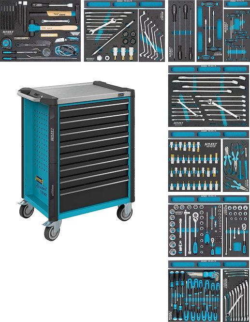 HAZET Werkstattwagen Assistent 179NX-8/244 Anzahl Werkzeuge: 244