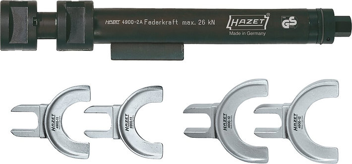HAZET Sicherheits Federspanner-Satz 4900-2A/5 Anzahl Werkzeuge: 5