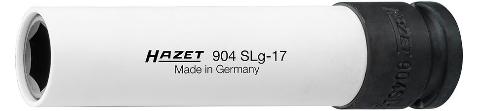 "HAZET Schlagschrauber Steckschlüssel-Einsatz extra lang 904SLG-17 1/2"" 17 mm"