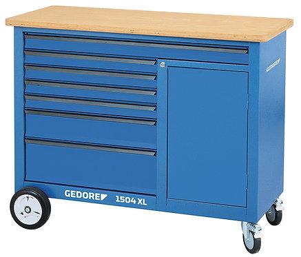 GEDORE Rollwerkbank mit 7 Schubladen 1,25 m breit 1504 XL