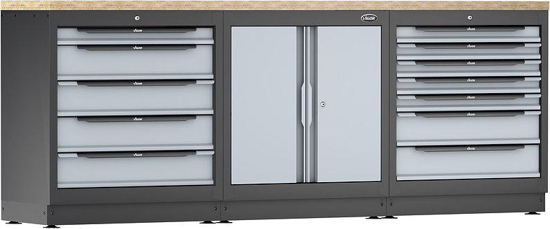 VIGOR Schrankwand-System V6000-3P1XL