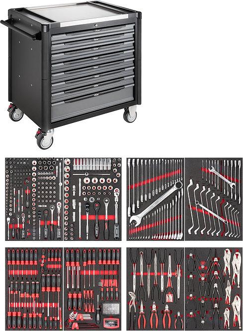 VIGOR Werkstattwagen 1000 XD V4481-XD/469 Anzahl Werkzeuge: 469