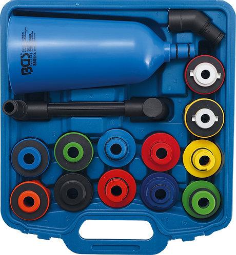 Öl-Einfülltrichter-Satz Kunststoffausführung 15-tlg. BGS-8505-2