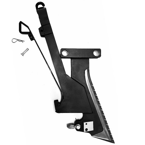 "10"" DitchWitch Wire Chute Combo Blade System"