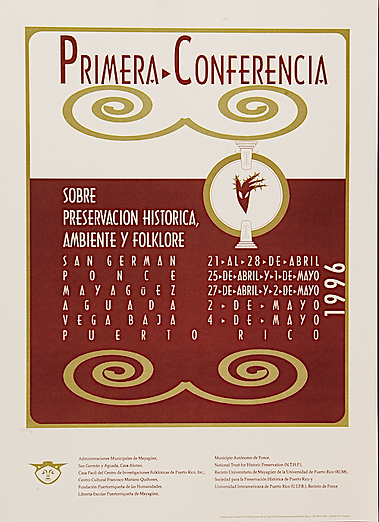 1996 CARTEL TEO FREYTES 1RA CONFERENCIA