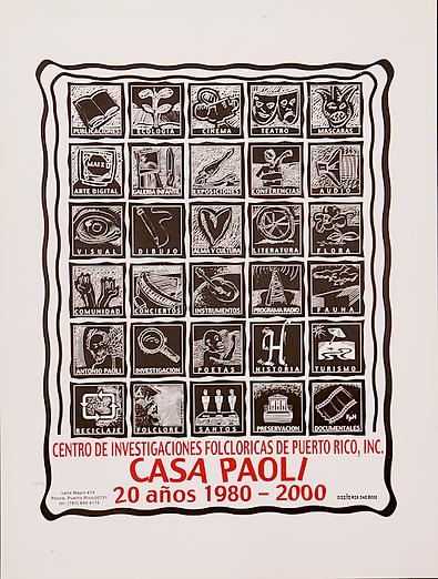 2000 CARTEL TEO FREYTES 20 ANOS DE CASA
