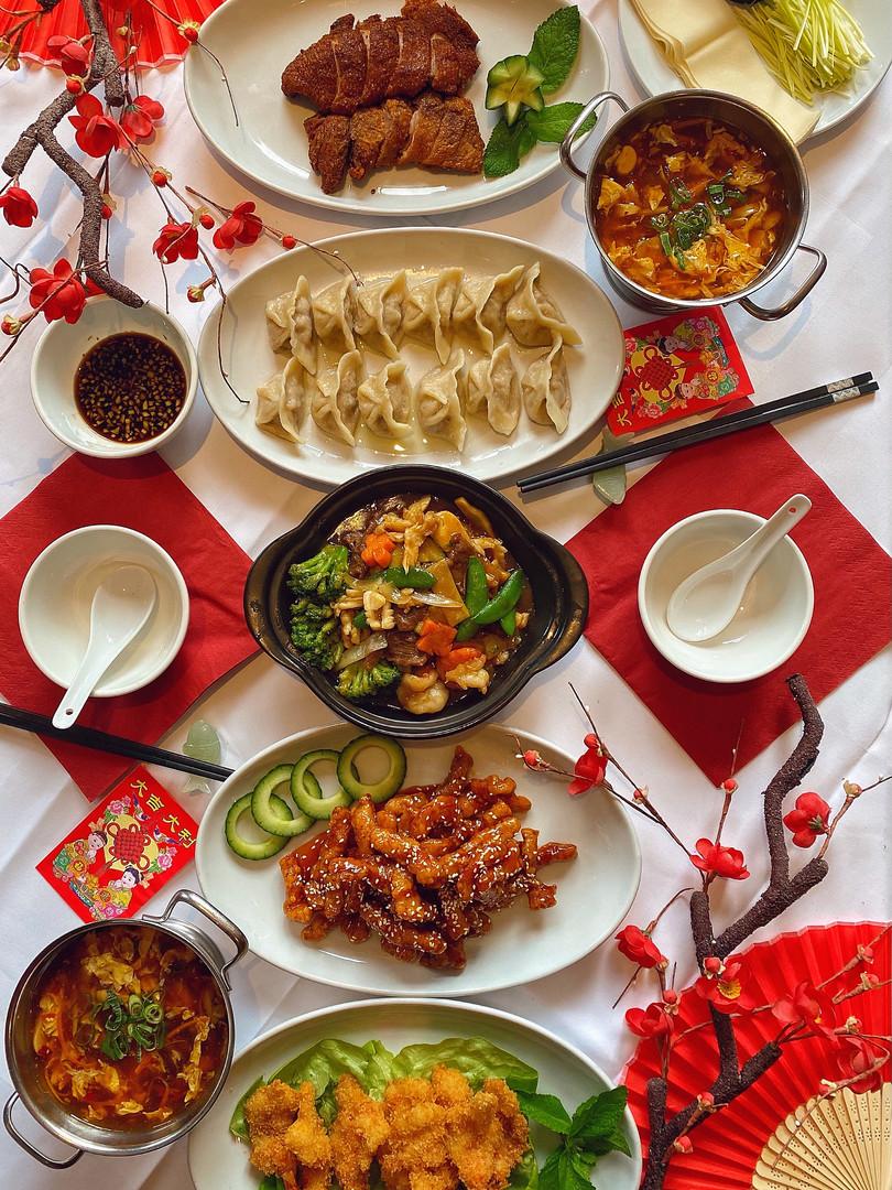 Jardin de Pékin - Menu Nouvel An Chinois 2021