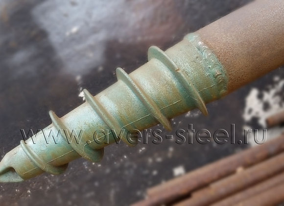 Винтовой столб АВЕРС из трубы НКТ Ф89/120 мм