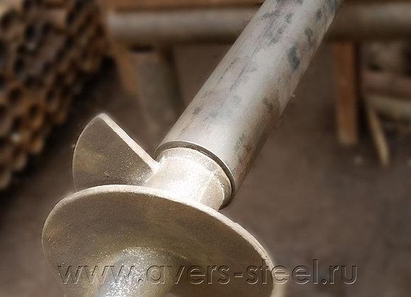 Столб заборный винтовой АВЕРС 60/150, L=3.5м
