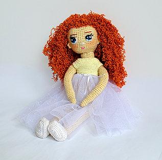 Szmaciana lalka Klara