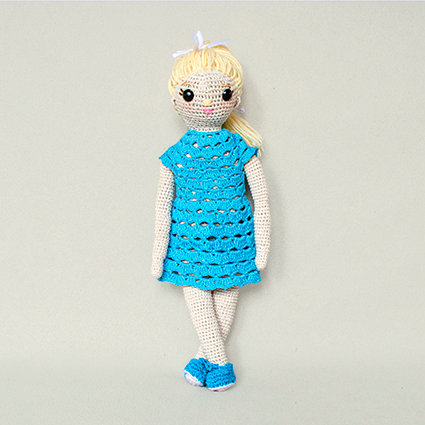 Szmaciana lalka Lola