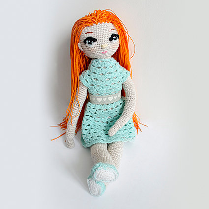 Szmaciana lalka Sonia