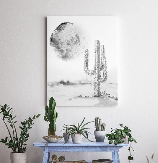 "Plakat grafika na ścianę ""Kaktus"""