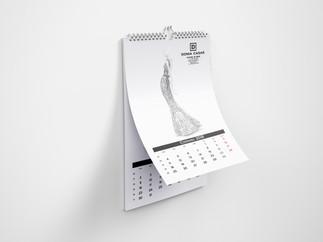Projekt kalendarza 2018