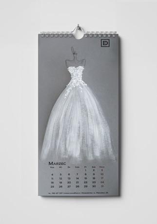Projekt kalendarza 2019