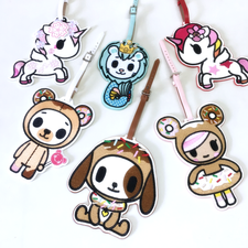 Tokidoki Character Luggage Tags