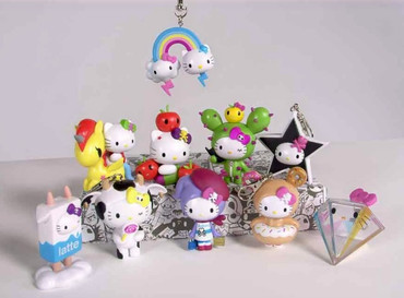 Tokidoki x Hello Kitty Character Charms