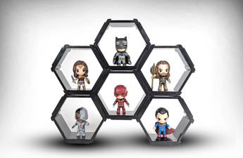 DC Justice League Hexagons