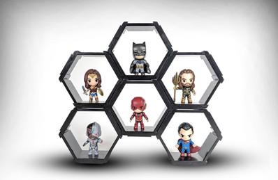 DC Justice League Hexagons