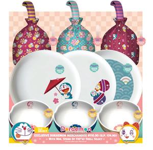 Doraemon Plates, Bowls, and Festive Carriers