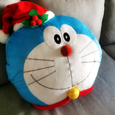 Doraemon Cushion with Blanket
