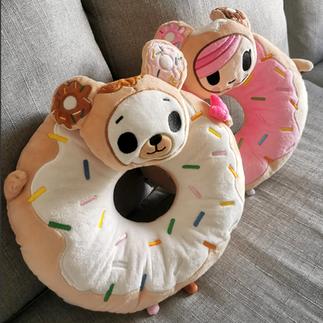 Tokidoki Character Donut Cushions