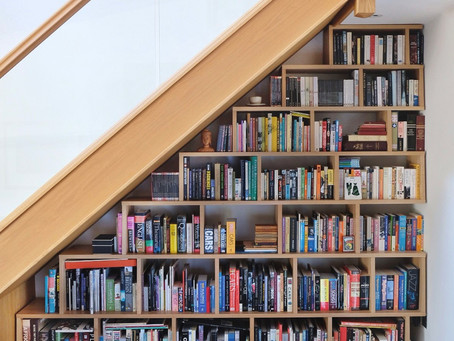 Books Galore - Solid oak Bookcase.  Looks so much better for real...