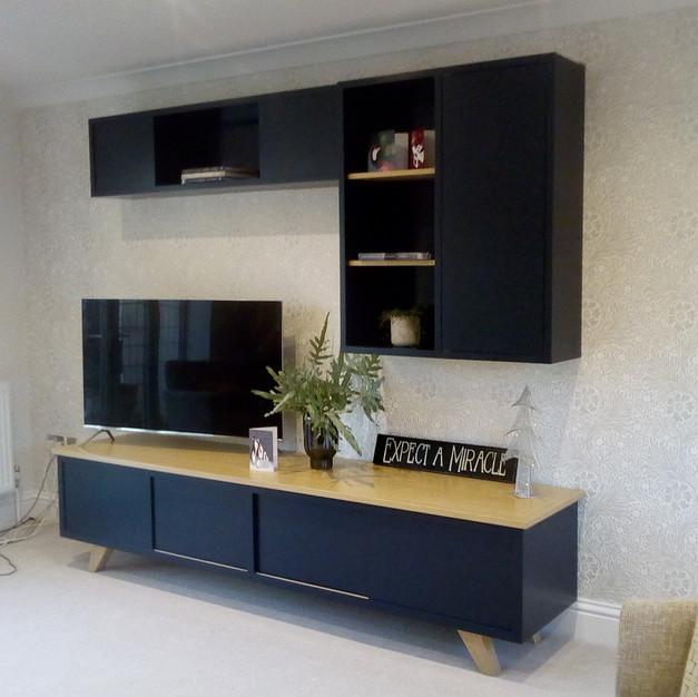 Side board & wall cupboard
