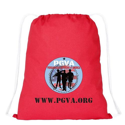 PGVA Drawstring Backpack