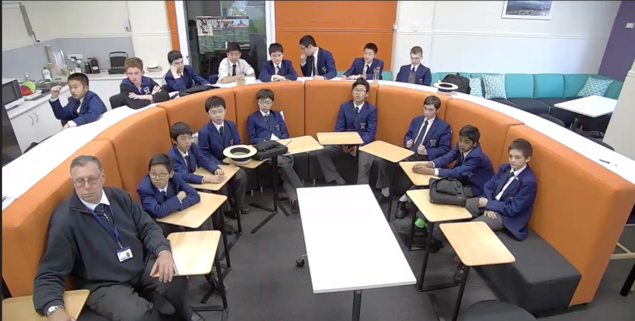 Knox Grammar in Sydney, Australia connects to DR Congo