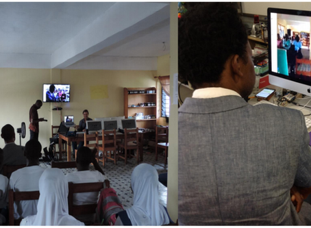 International Distance Learning Session – Liberian Students Partner with Each Other & with Brooklyn