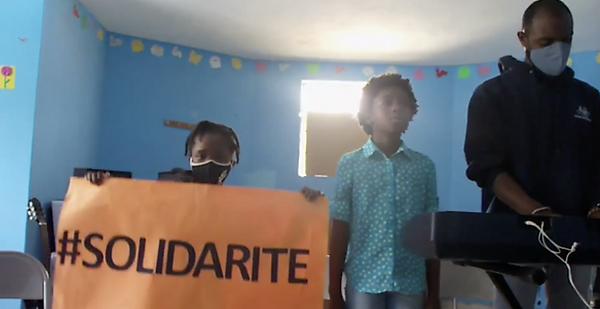 Haiti Singing Solidarite - Original smal