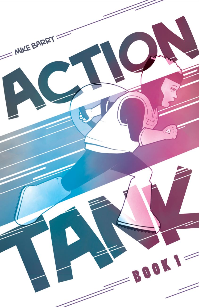 Action Tank, Book 1, cover, Mike Barry