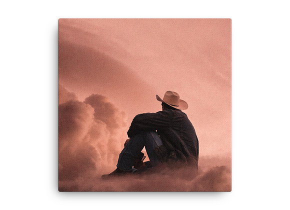 Cowboy Dream Canvas Print