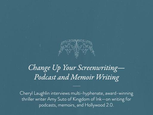 Press: Script Magazine Interviews Amy Suto about Podcasts, Memoir Ghostwriting