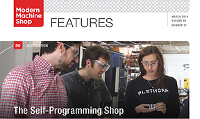 Plethora Modern Machine Shop Cover Story