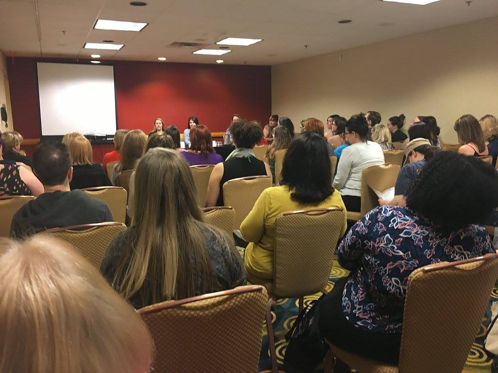 One of many valuable workshops led by experts in the wonderful world of romance writing!