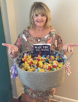 """The author from """"Ducktown"""" gives away these book-reading rubber ducks!"""