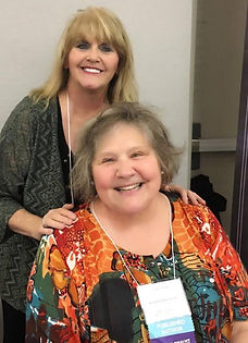 Donna Morton and best-selling author Cindy Nord